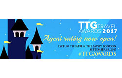 Agent rating is now open – TTG Travel Awards 2017