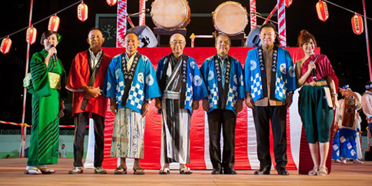 Biennial Bon Odori Festival in Bangkok marks 130 years of Thai-Japanese relations