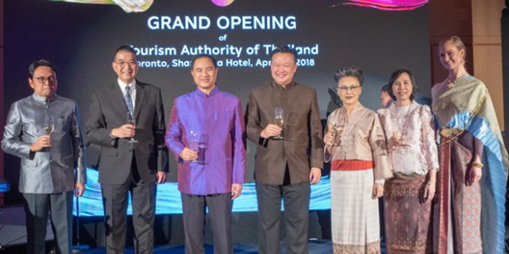 TAT opens its 28th overseas office in Toronto, Canada