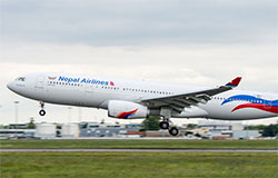 Nepal Airlines Takes Delivery of A330 from HiFly