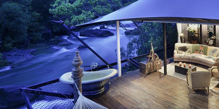 All-Inclusive Luxury Tented Camp in Cambodia