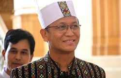 Myanmar Vice President U Henry Van Thio