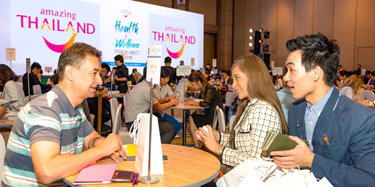 Amazing Thailand Health & Wellness Trade Meet 2018