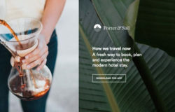 Porter & Sail and Design Hotels partner up for mobile bookings