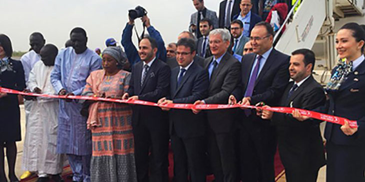 Turkish Airlines now offering twice-weekly services to Banjul in Gambia